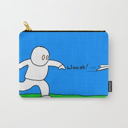Airplane Guy Carry-All Pouch