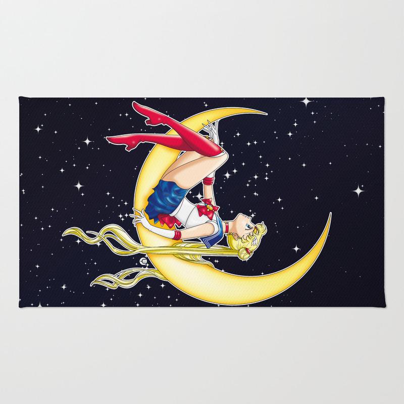 Pretty Guardian Sailor Moon Rug by Alphavirginis RUG2608574