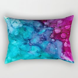 Jewel Tones Rectangular Pillow