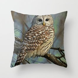 Woodland Goddess Throw Pillow