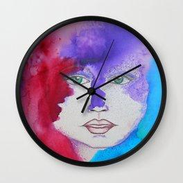 Bella SASS Girlz - Zena - SASS = STRONG and SUPER SMART Wall Clock