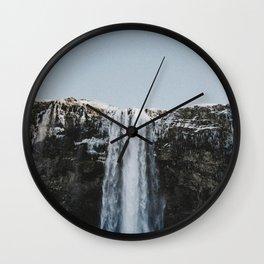 Waterfall / Seljalandsfoss, Iceland Wall Clock