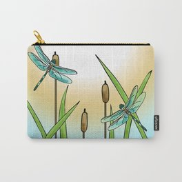 Dragonflies Fly Carry-All Pouch