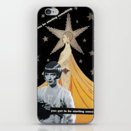 """""""The End is The Beginning""""  iPhone Skin"""