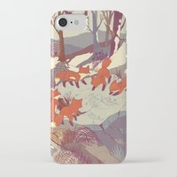 believe iPhone & iPod Cases featuring Fisher Fox by Teagan White