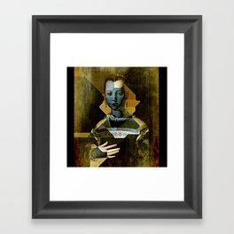 Marie de Medici V1 - Bronzino Framed Art Print