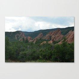 Red Rocks of Roxborough Canvas Print