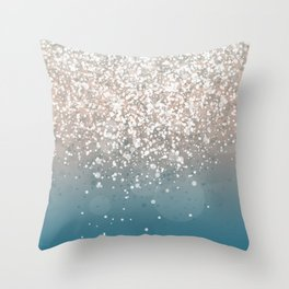 New Colors X Throw Pillow