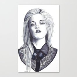 Sky Ferreira by Hedi Slimane I Canvas Print