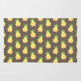 Happy pineapple kids Rug
