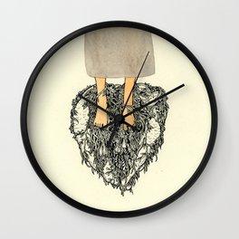 Ghosts III Wall Clock