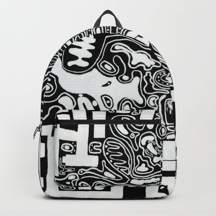 Organic Memories of An Urban Elephant Backpack