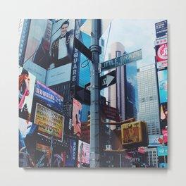 Little Brazil (Times Sq, New York) Metal Print