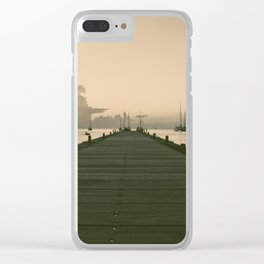 Sea Road Clear iPhone Case