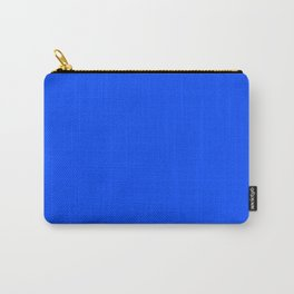 Blue (RYB) - solid color Carry-All Pouch