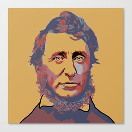 Henry David Thoreau Canvas Print