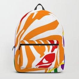 LGBT Community Zebra Portrait, Animal Photo, Large Printable Photography, Stripes Wall Art, Striped Backpack