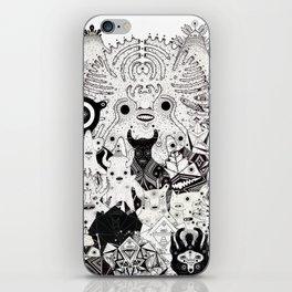 Skool Daze ii iPhone Skin
