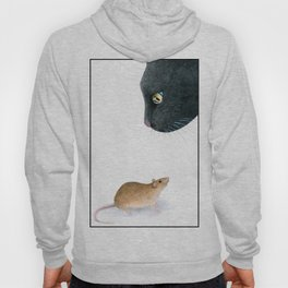 Cat 604 mouse Hoody