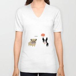 Dog Fart Unisex V-Neck