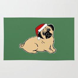 Christmas Pug Rug