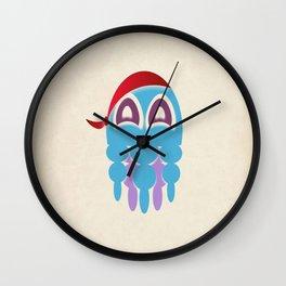 Octopus Sea Pirate Wall Clock