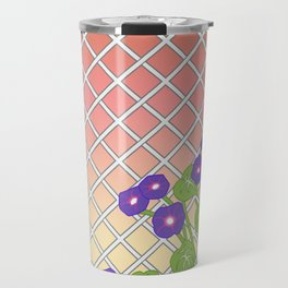 Morning Glory At Sunset Travel Mug