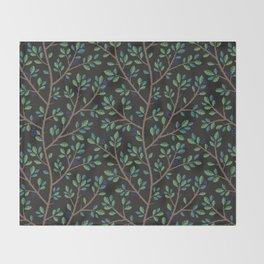 Blackthorn Throw Blanket
