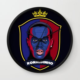 Ronaldinho Wall Clock
