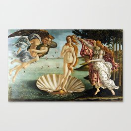Iconic Sandro Botticelli The Birth of Venus Canvas Print