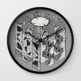 Hellraiser Puzzlebox D Wall Clock