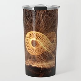 Infinite Fire Spin Travel Mug