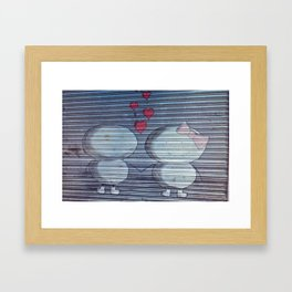 Love and other Paint Framed Art Print