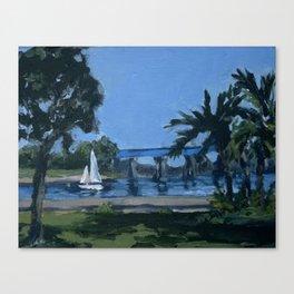 Hide Away Park Canvas Print