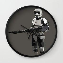 Scout Trooper Wall Clock