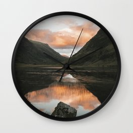 Time Is Precious - Landscape Photography Wall Clock