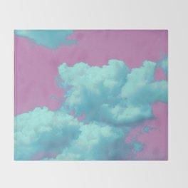 Pastel Sky Throw Blanket