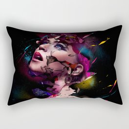 WOMAN-FACE-ART Rectangular Pillow