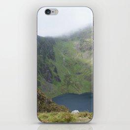 Wales Landscape 21 Cader Idris Mountain Lake iPhone Skin