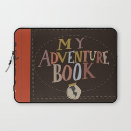 my adventure book.. up, carl and ellie Laptop Sleeve