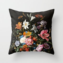 Still Life Floral #2 Throw Pillow