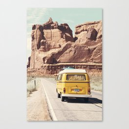 Going on a road trip Canvas Print
