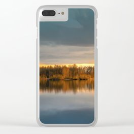 Nature lake 88471 Laupheim - Germany Clear iPhone Case