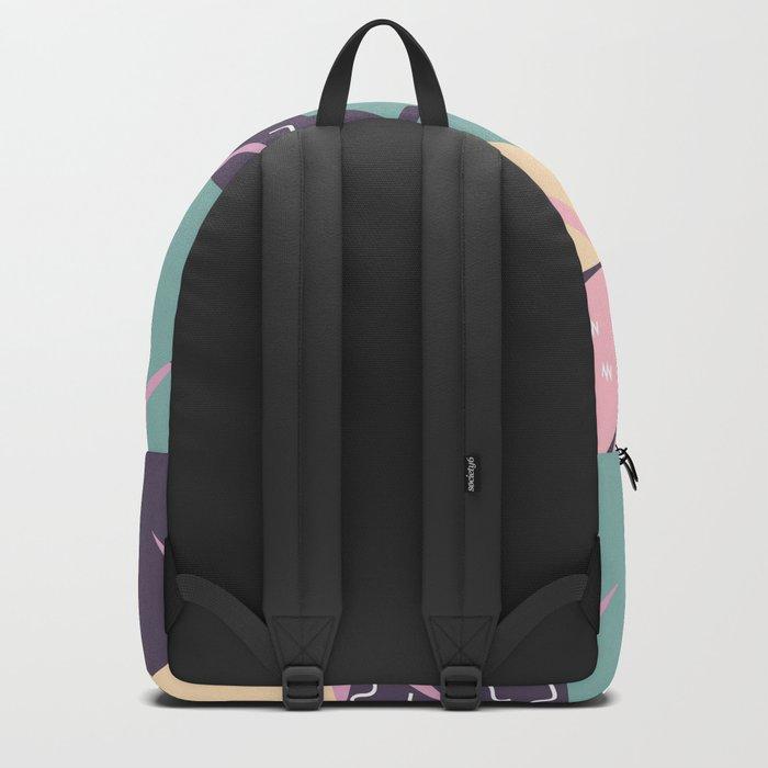 Soft leaves Backpack