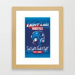 Light Labs Framed Art Print