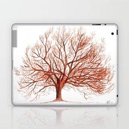 Lonely tree in autumn Laptop & iPad Skin