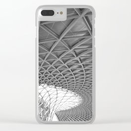 King's Cross Station Clear iPhone Case