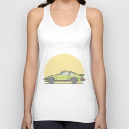 Porsche 911 935 bullnose vector illustration Unisex Tank Top
