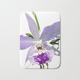 Purple Orchid Bath Mat
