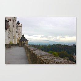 A view from Festung Hohensalzburg Castle Canvas Print